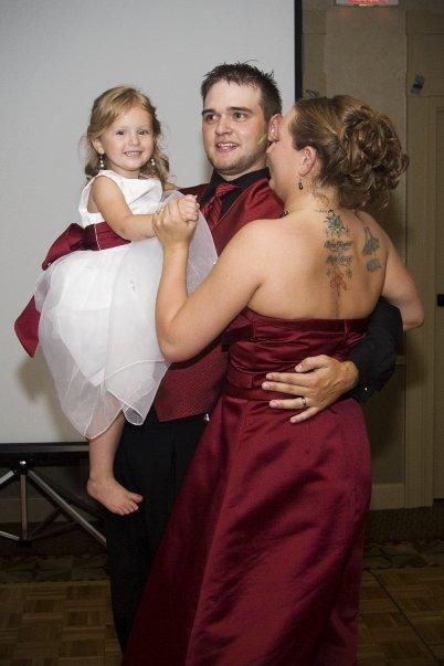 Keira Brent and Crystal dancing