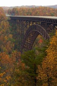 New River Bridge in West Virginia