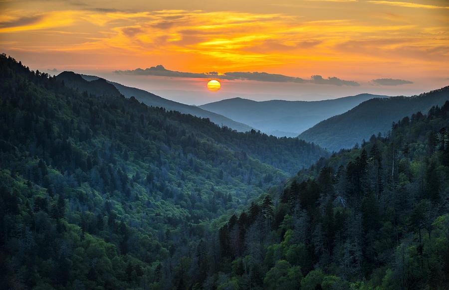 smoky-mountains-sunset-great-smoky-mountains-gatlinburg-tn-dave-allen