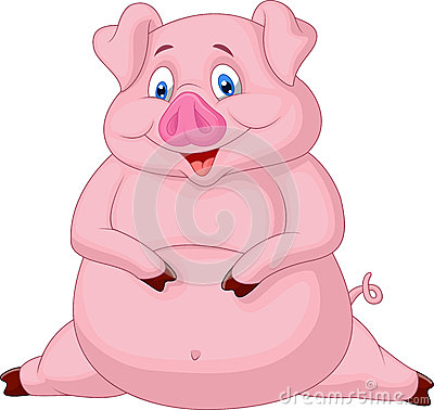 fat-pig-cartoon-illustration-34612754