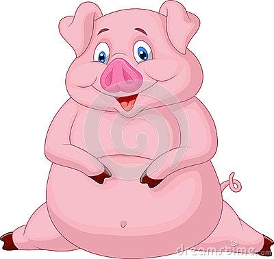 fat-pig-cartoon-illustration-34612754