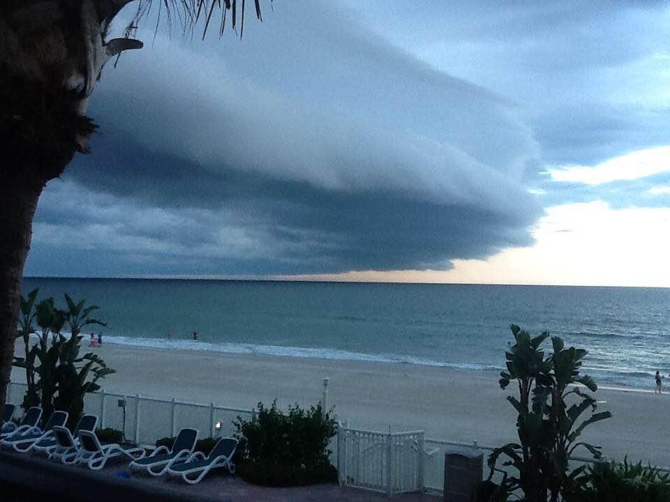 florida shelf cloud