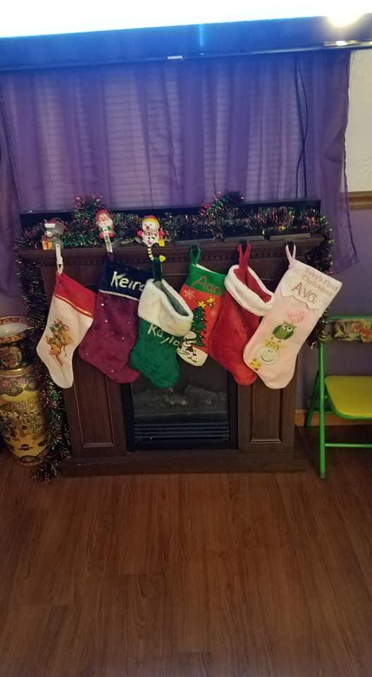 my grandkids stockings